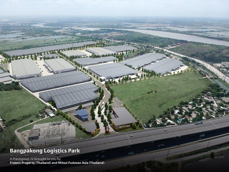 Frasers Property Thailand and Mitsui Fudosan commence the development of large-scale integrated logistics park in the EEC